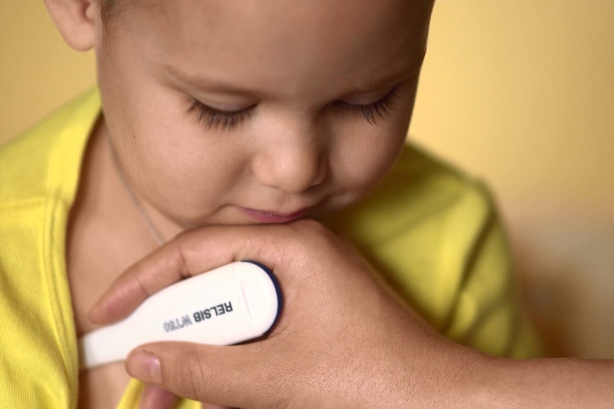 Блог Контроль температуры ребенка